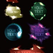 Link toLight labels for you text vector