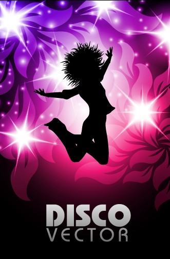 elements of music 80s party flyer design vector 01 free download