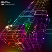Link toElements of neon abstract vector backgrounds 04
