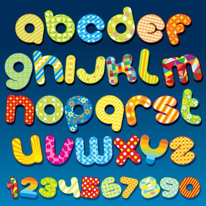 Z Alphabet Images ... alphabet set vector 04 download name cute original alphabet set vector