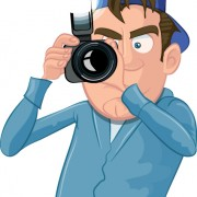 Link toFunny cartoon photographer vector set 01
