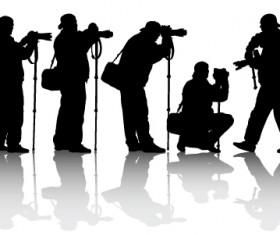 Elements of Photographic studio photographer design vector 03