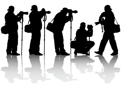 Elements Of Photographic Studio Photographer Design Vector 03 Free