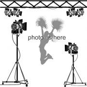 Link toElements of photographic studio photographer design vector 04