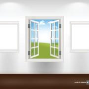 Link toDifferent plastic window design elements vector 02