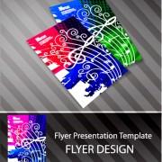 Link toCreative postcard design elements vector set 02