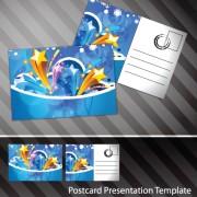 Link toCreative postcard design elements vector set 03