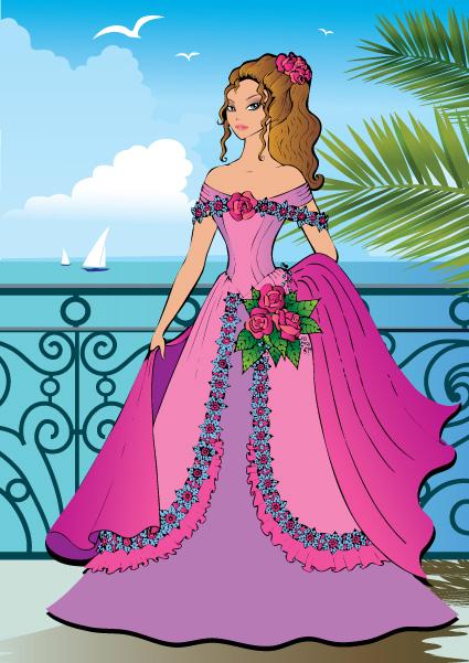 vector free download princess - photo #24