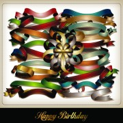 Link toSet of different ribbon design vector 02