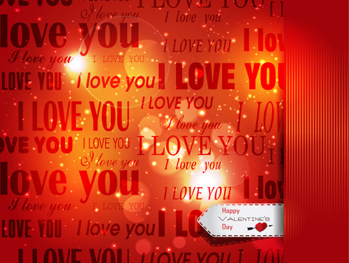 Romantic Happy Valentine day cards vector 20 Vector Card Vector – Romantic Valentine Day Cards