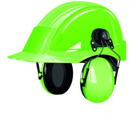 Different colored Safety helmet elements vector 03