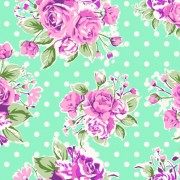 Link toSeamless flowers pattern vector 01