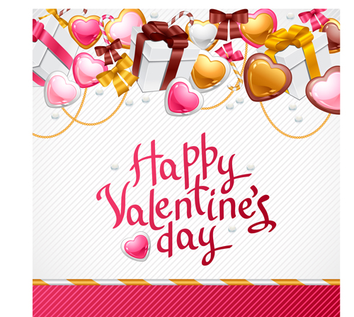 Sweet Valentine cards design vector 03 - Vector Card ...