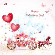 Link toValentine day romantic coach vector 04