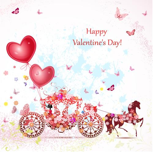 valentine day romantic coach vector 04 - vector festival free download, Ideas