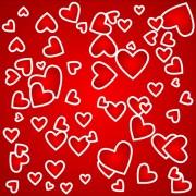 Link toRomantic heart valentine background free vector 05