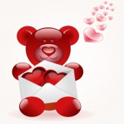 Link toSet of valentine day decor elements vector 04