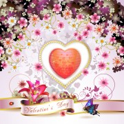 Link toSweet valentine day card design vector 04