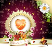 Link toSweet valentine day card design vector 05