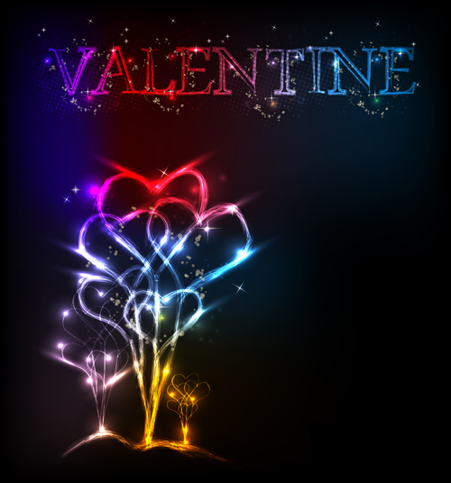 Vector Valentine day Illustration collection 10