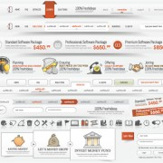 Link toSet of web menu navigation vector material 01