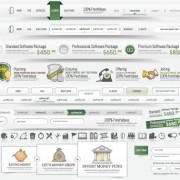 Link toSet of web menu navigation vector material 03