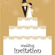 Link toSet of wedding invitation cards design vector 01