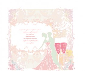 Set of Wedding Invitation cards design vector 03