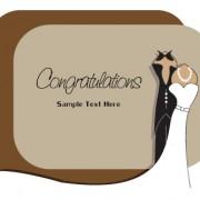 Link toSet of wedding invitation cards design vector 05