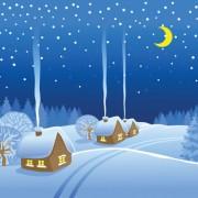 Link toBeautiful winter landscapes 03 vector