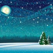 Link toBeautiful winter landscapes 04 vector
