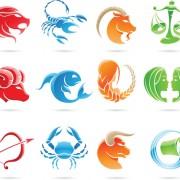 Link toSet of zodiak icon vector 03