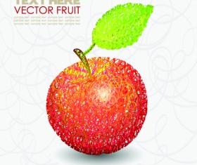 Creative apple Vector illustration set 02