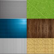 Link toNature elements patterns vector