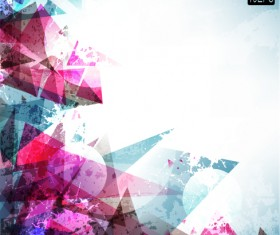 Set of colored Abstract vector backgrounds art 01