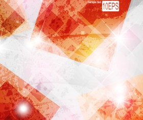 Set of colored Abstract vector backgrounds art 02