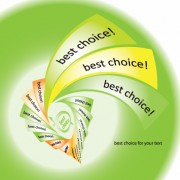 Link toSet of best choice sticker vector graphic 02