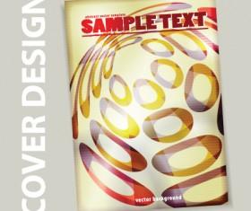 Cover brochure design art vector 02