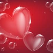 Link toBubble hearts vector