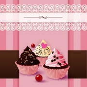 Link toCute cake cards design elements vector 01