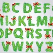 Link toVector set of creative letters design element material 01