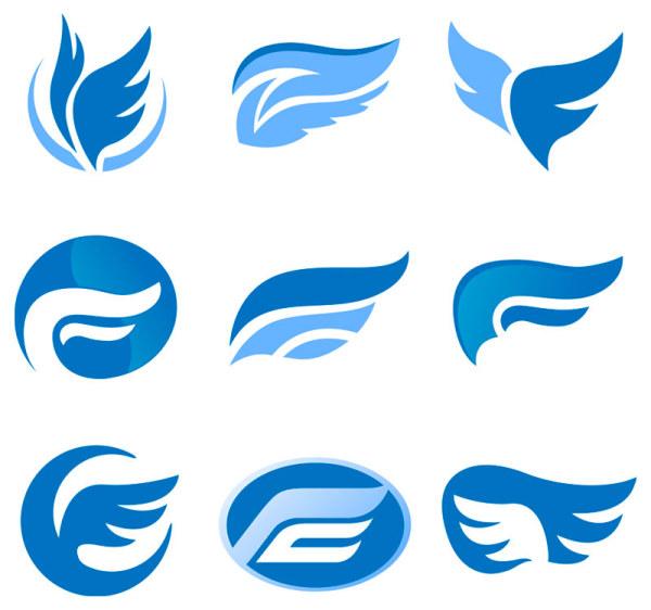 Logo Vector Set Set of Colored Abstract Logo
