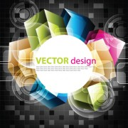 Link toColor graphics with dark background vector 02