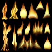 Link toVector set of fire design elements 03