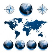 Link toElements of globe backgrounds art vector 05