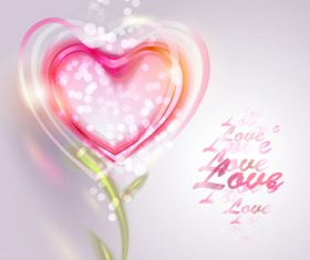Valentine Day love backgrounds vector 03