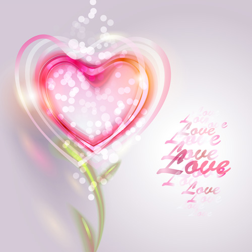 Valentine Day Love Backgrounds Vector 03 Free Download