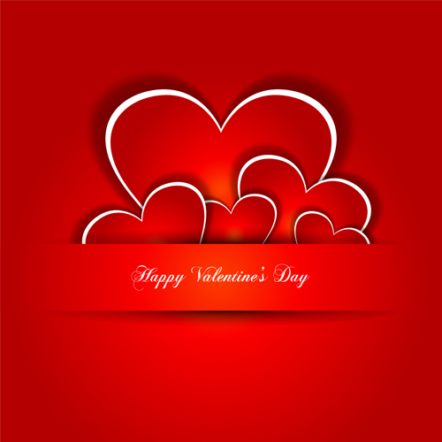 Valentine Day Love Backgrounds Vector 05 Free Download