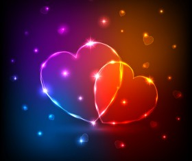 Valentine Day love backgrounds vector 07
