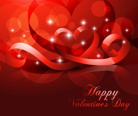 Valentine Day love backgrounds vector 08